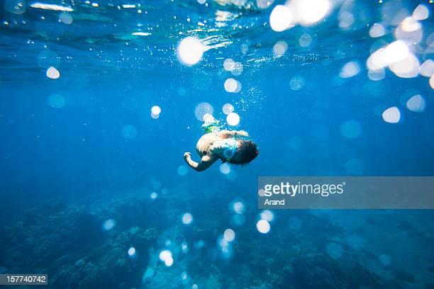 ダイビング少年