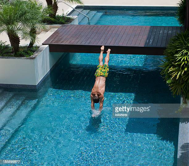 Diving into Pool