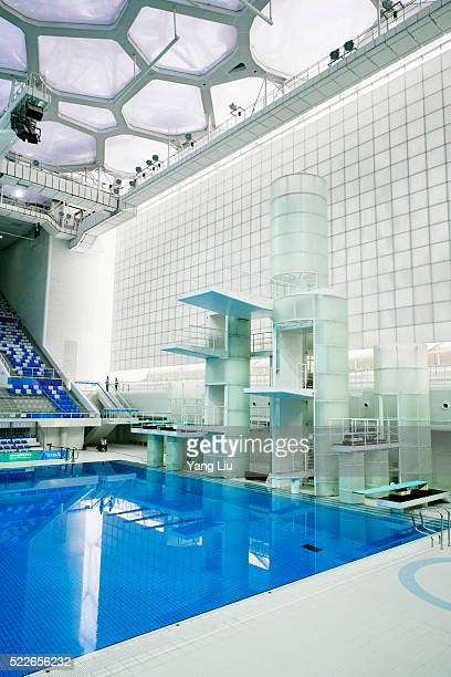 Diving Stand at Beijing National Aquatics Centre