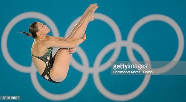 Diving-Women's 10 metre platform- semi-finals Day 13: Melissa Wu of Australia diving at the Aquatic Centre during the 2012 London Olympic Games.