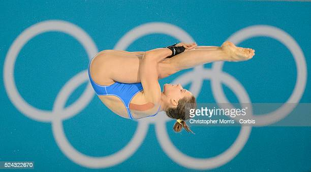 DivingWomen's 10 metre platform semifinals Day 13 Noemi Batki of Italy diving at the Aquatic Centre during the 2012 London Olympic Games
