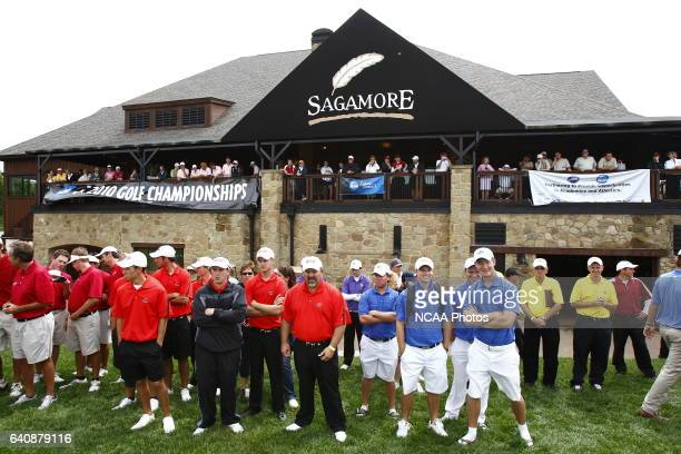 Division II Men's Golf Championship at the Sagamore Golf Club in Noblesville IN Andrew Hancock/ NCAA Photos via Getty Images
