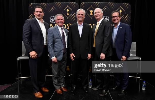 NHLPA Divisional Player Representative Steve Webb Vegas Golden Knights President Kerry Bubolz Mandalay Bay Resort and Casino President COO Chuck...