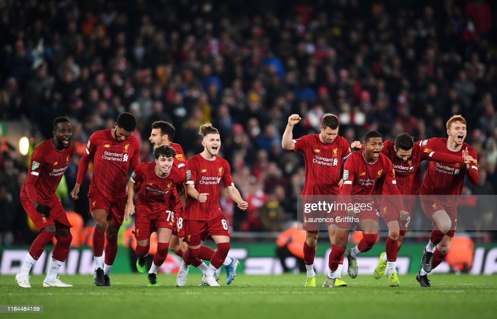 Liverpool FC v Arsenal FC - Carabao Cup Round of 16 : ニュース写真