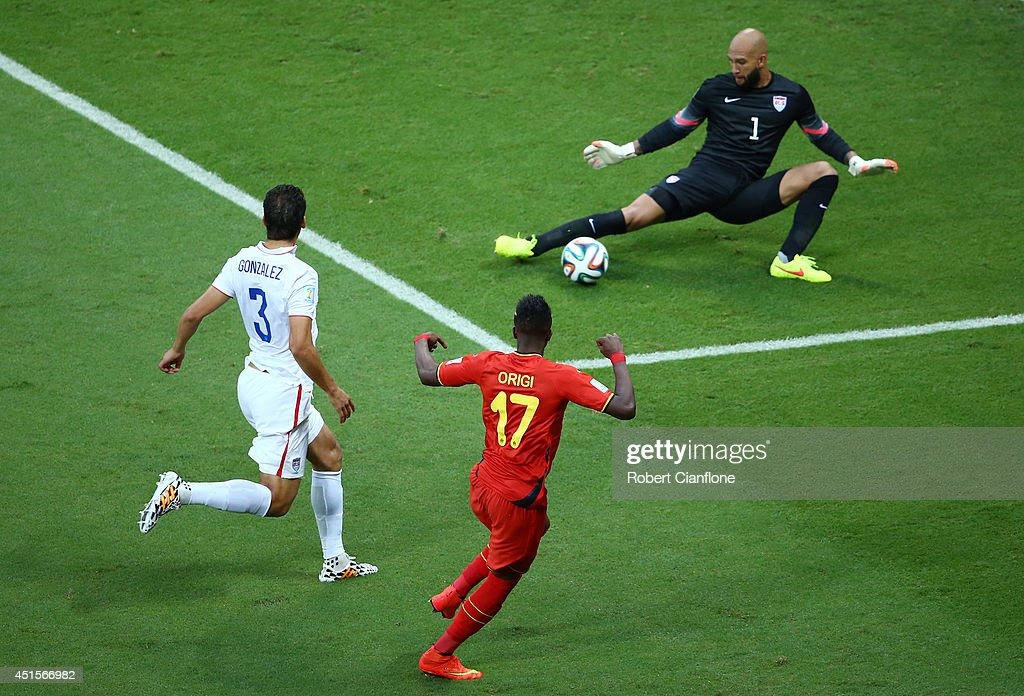 Belgium v USA: Round of 16 - 2014 FIFA World Cup Brazil : News Photo