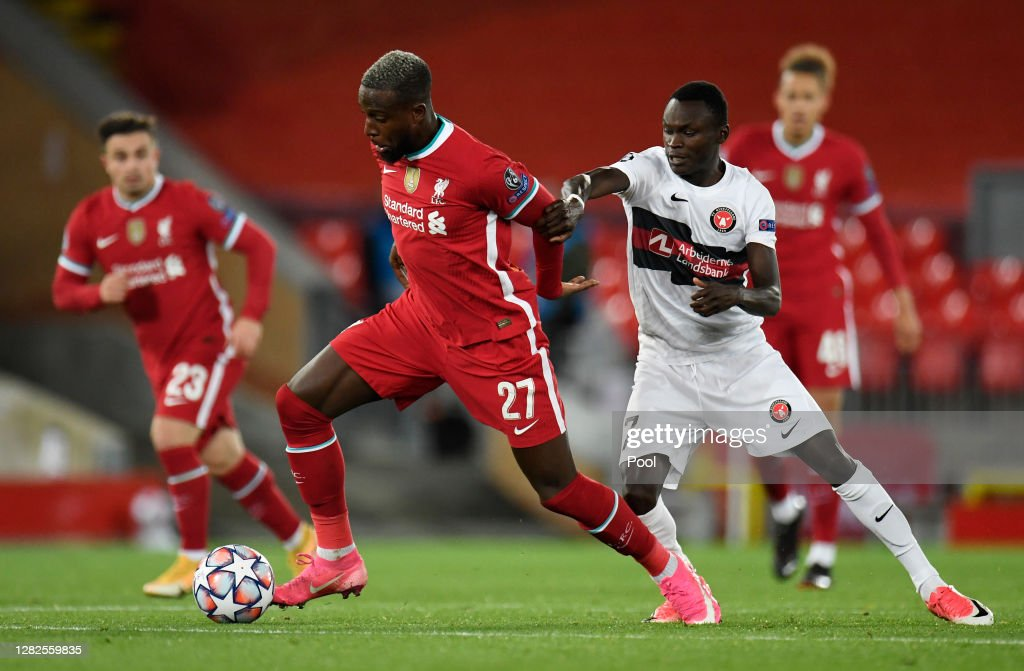 Liverpool FC v FC Midtjylland: Group D - UEFA Champions League : News Photo