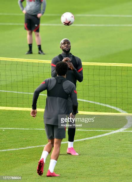 Divock Origi of Liverpool during a training session at Melwood Training Ground on September 16 2020 in Liverpool England