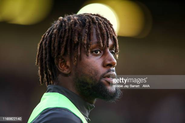 Divock Origi of Liverpool during the Premier League match between Burnley FC and Liverpool FC at Turf Moor on August 31 2019 in Burnley United Kingdom