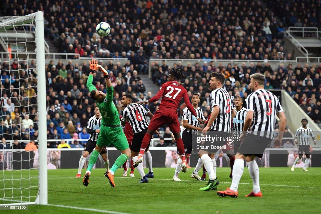 Newcastle United v Liverpool FC - Premier League : News Photo