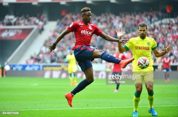Divock ORIGI / Oswaldo VIZCARRONDO Lille / Nantes 5eme journee de Ligue 1 Photo Dave Winter / Icon Sport