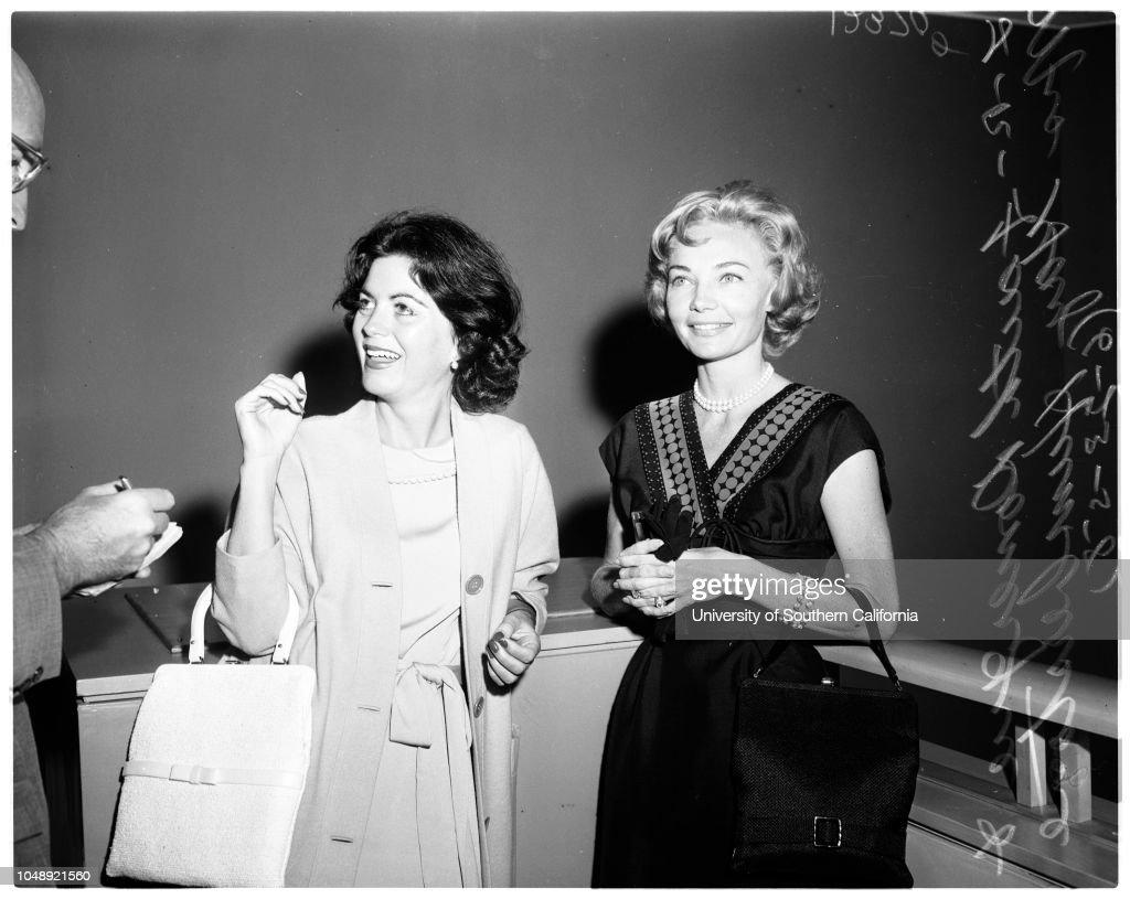Divorce, 1958 : News Photo