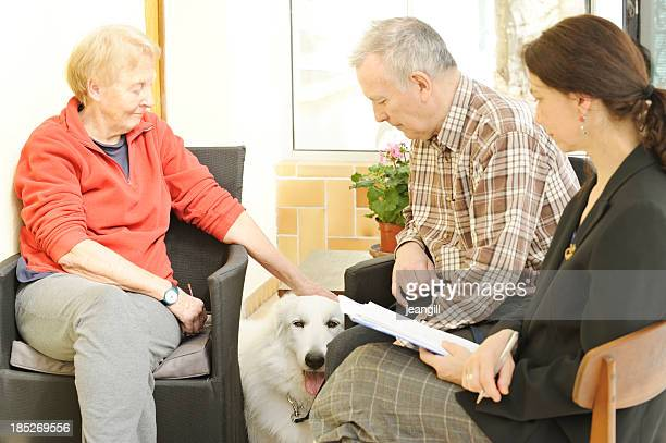 Divorce et chien