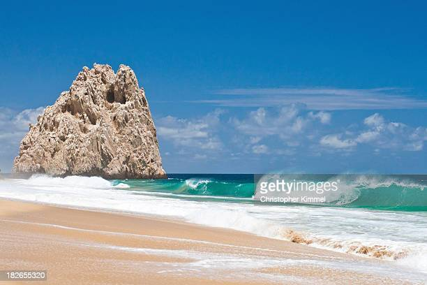 divorce beach - cabo san lucas stock pictures, royalty-free photos & images