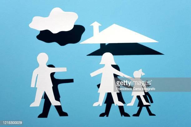 divorce concept - divorce kids stock pictures, royalty-free photos & images