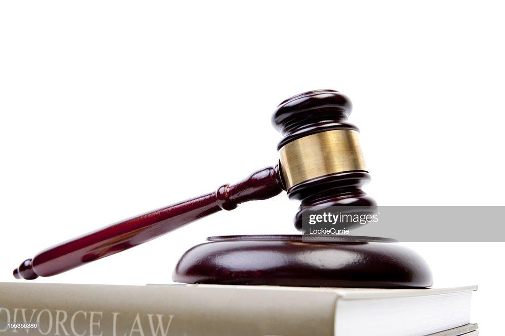Divorce law : Stock Photo
