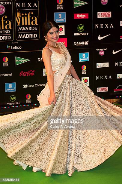 Divya Khosla Kumar attends the 17th IIFA Awards at Ifema on June 25 2016 in Madrid Spain