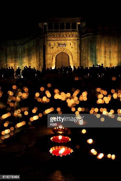 Diwali Celebration at Shaniwarwad Pune