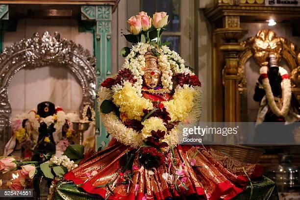 Diwali celebration at the Paris Ganesh temple Laxmi