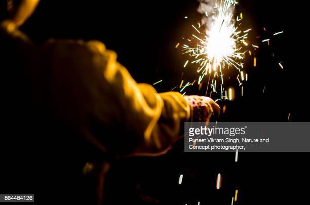 diwali celebration - diwali stock photos and pictures