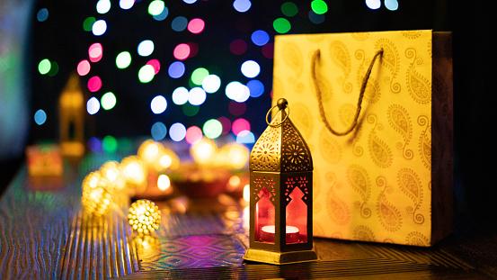 Diwali Decoration and Diya 1176452236