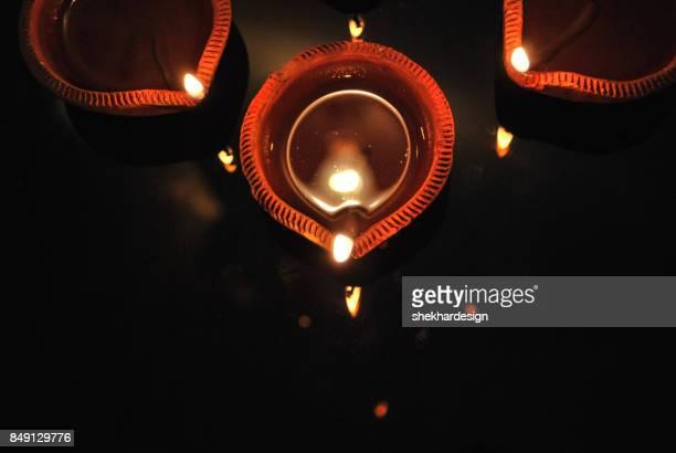 diwali diya - diwali stock photos and pictures