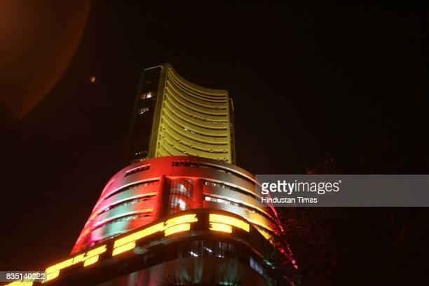 Diwali Festival Stock brokers celebrate Diwali at the Bombay Stock Exchange building on Friday