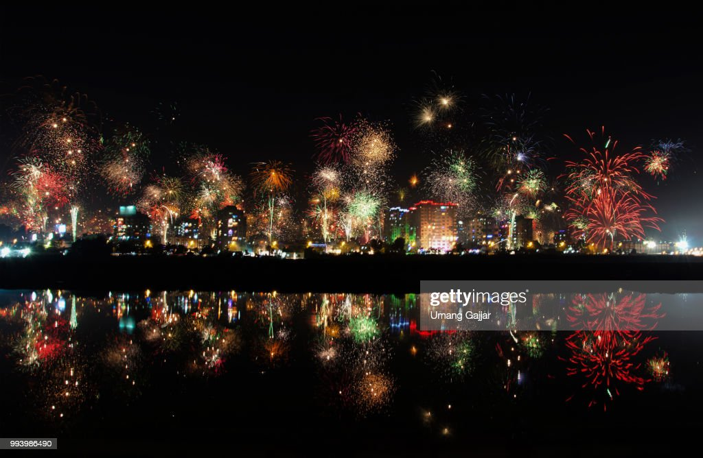 Diwali in India. : Stock Photo