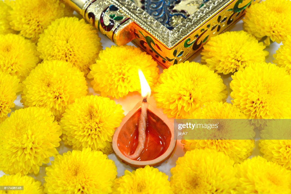 Diwali Light : Stock Photo