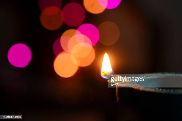 diwali lights - diwali stock pictures, royalty-free photos & images