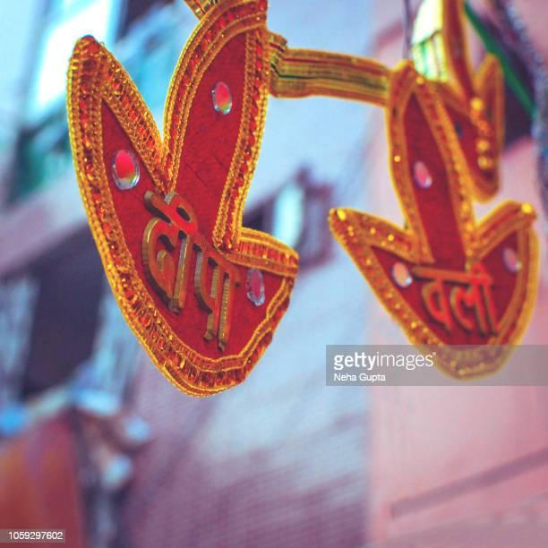 Diwali market, New Delhi, India