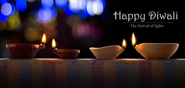 Diwali oil lamp 485538976