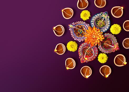 Diwali Oil Lamp 485871984