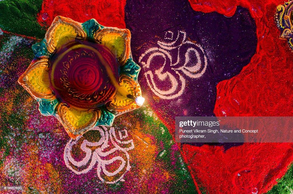 Diwali preparations : Stock Photo