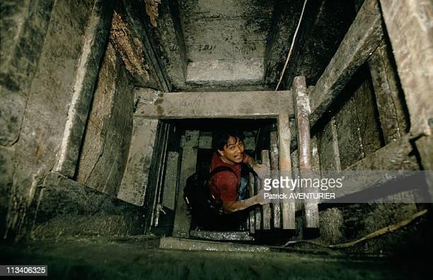 Diwalwal Gold Mine In Mindanao On February 1st, 1988 In Mindanao,Philippines