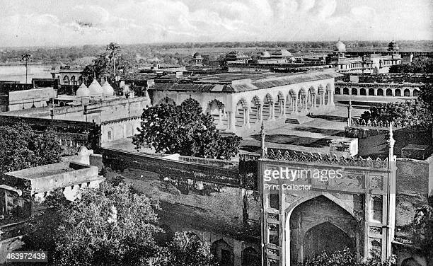 Diwan-i-am inside the Agra Fort, 20th century.