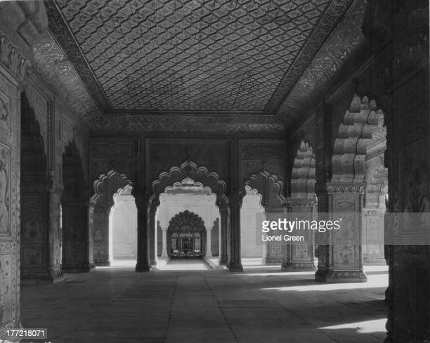 Diwan-i-Khas, the private audience hall, part of the Red Fort in New Delhi, India, circa 1920-1970.