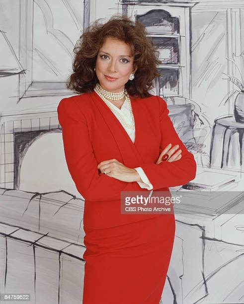 Dixie Carter as interior designer Julia Sugarbaker from the CBS television series 'Designing Women' California 1987