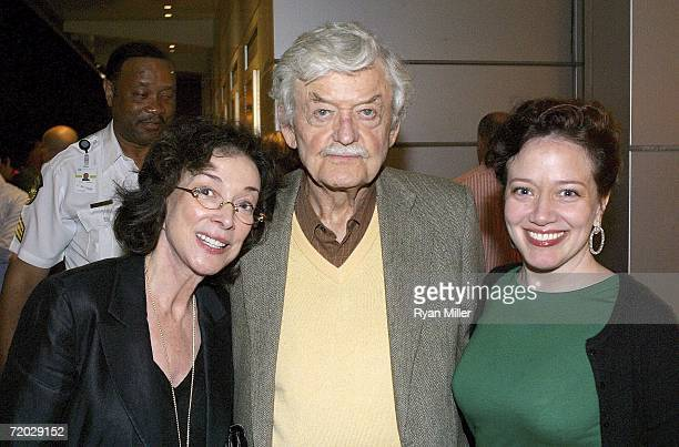 Dixie Carter Hal Holbrook and Ginna Carter at the opening night and launch of the national tour of Doubt John Patrick Shanley's Pulitzer Prize and...