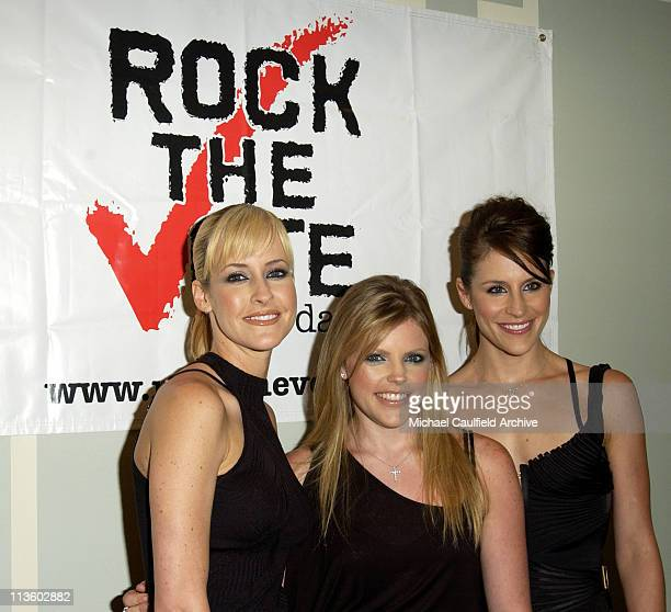 Dixie Chicks' Martie Maguire left Natalie Maines and Emily Robison