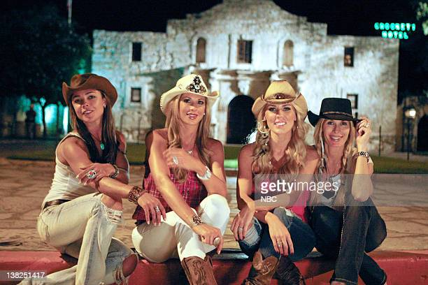 COUNTY 'Dixie Dude Ranch' Pictured Fernanda Rocha Alexis Bellino Gretchen Rossi Peggy Tanous