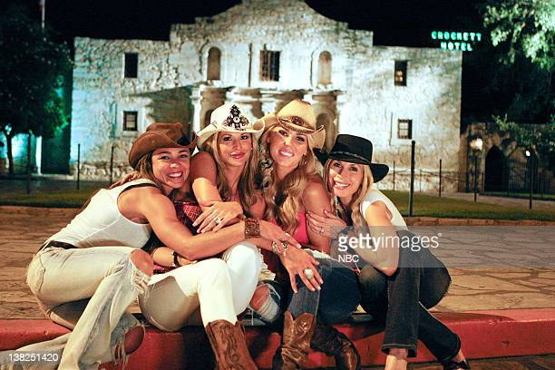 COUNTY Dixie Dude Ranch Pictured Fernanda Rocha Alexis Bellino Gretchen Rossi Peggy Tanous