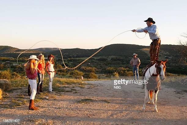 COUNTY Dixie Dude Ranch Pictured Gretchen Rossi Alexis Bellino Fernanda Rocha ranch hands