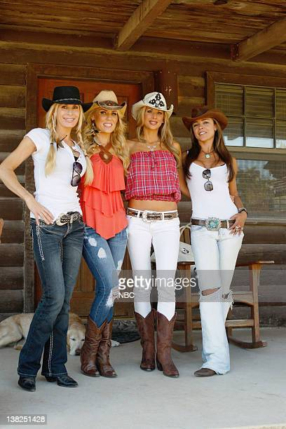 COUNTY 'Dixie Dude Ranch' Pictured Peggy Tanous Gretchen Rossi Alexis Bellino Fernanda Rocha
