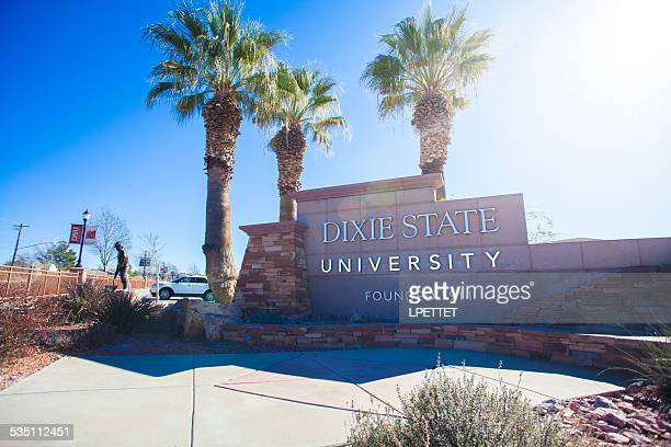 dixie state university - st. george utah stock pictures, royalty-free photos & images