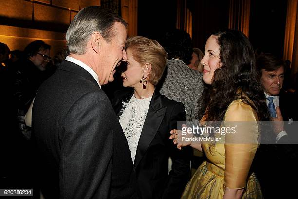 Dixon Boardman Carolina Herrera and Patricia Herrera Lansing attend VANITY FAIR Tribeca Film Festival Party hosted by GRAYDON CARTER ROBERT DE NIRO...