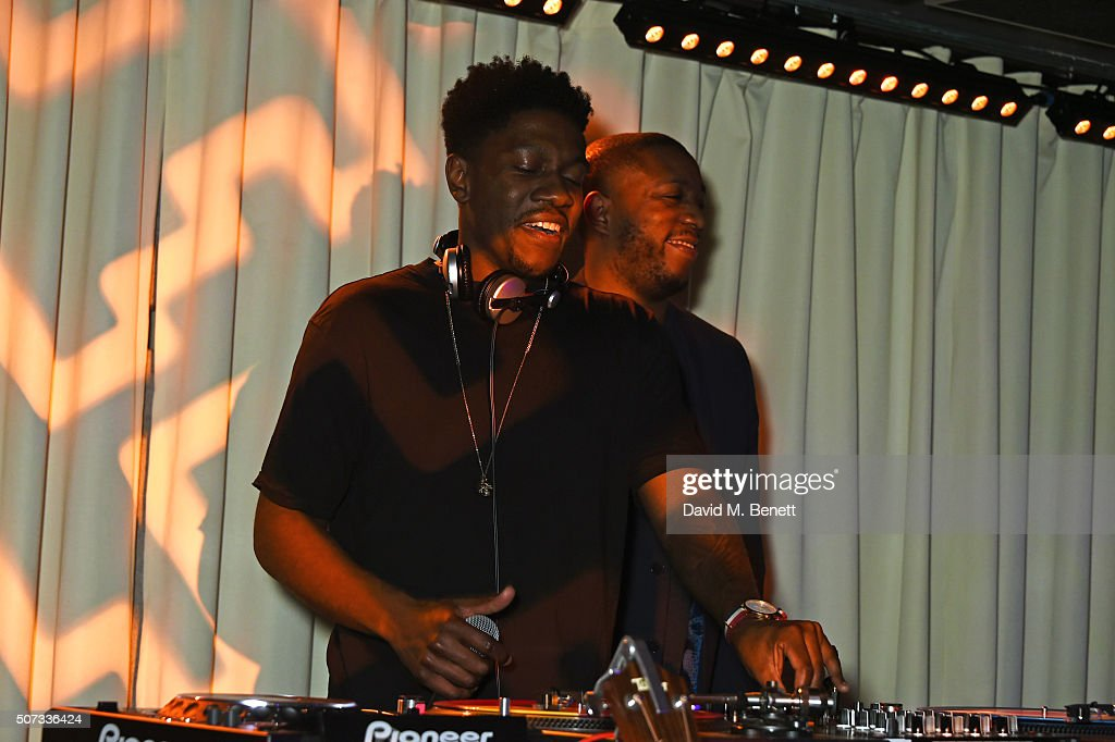 Dixon Brothers DJ at the launch of 100 Wardour St on January