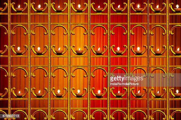diya , diwali background - oil lamp stock pictures, royalty-free photos & images
