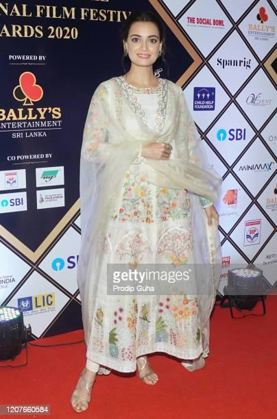 Diya Mirza attend the Dadasaheb Phalke International Film Festival Awards on February 202020 in Mumbai India