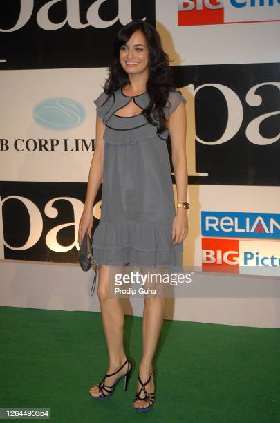 """Diya Mirza attends the film premiere of """"PAA"""" on December 03, 2009 in Mumbai, India."""