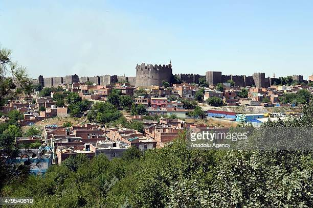 Diyarbakir Fortress and Hevsel Gardens are seen, on July 5 in Turkey's Diyarbakr. The World Heritage Committee of the United Nations Organization for...
